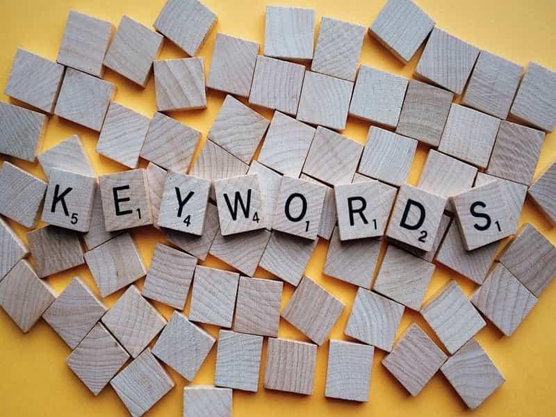 Audit de mots-clés et expressions-clés