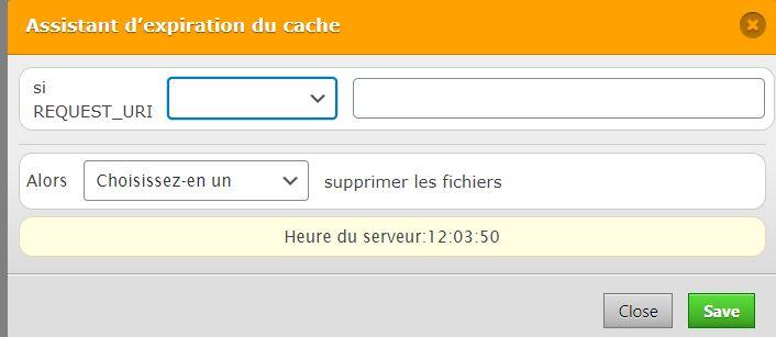 Délai expiration cache - WP Fastest Cache