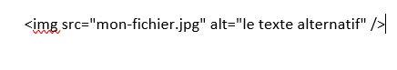 Attribut ALT en code HTML