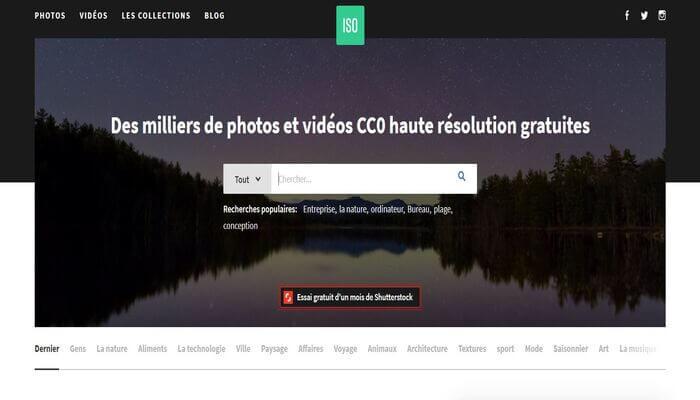 Banque d'images gratuites - Iso Republic