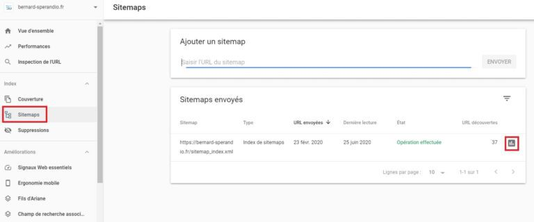 Sitemap XML - Google Search Console