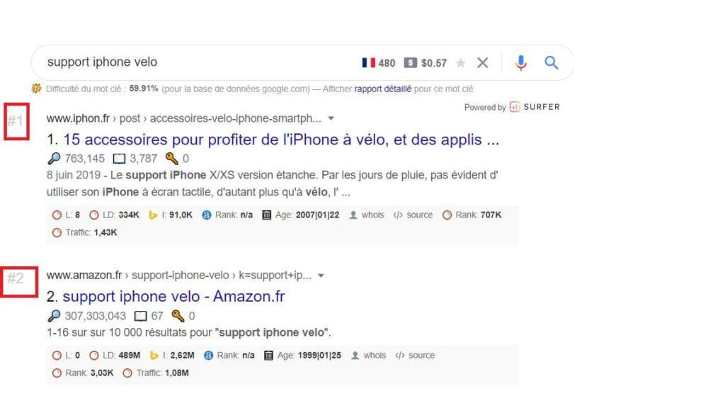 Extension SEO Chrome Google SERP Counter