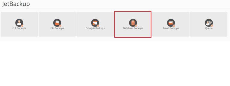 JetBackup-Database-Backups