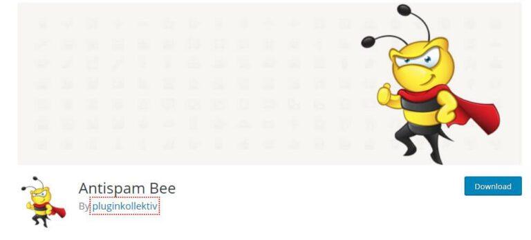 Plugin WordPress Antispam Bee