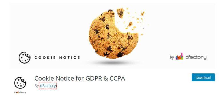 Plugin WordPress Cookie Notice