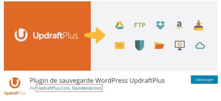 Plugin WordPress UpdraftPlus