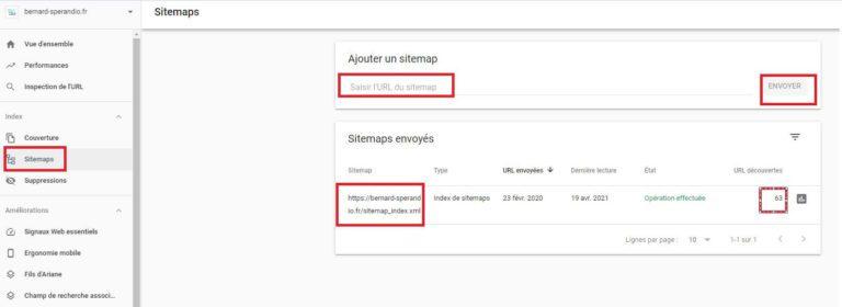 Sitemaps XML- Google Search Console