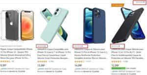 Annonces sponsorisées Amazon