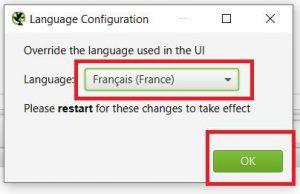 Configuration Screaming Frog en langue française
