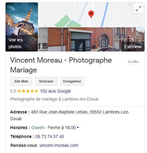 Knowledge Panel - Vincent Moreau