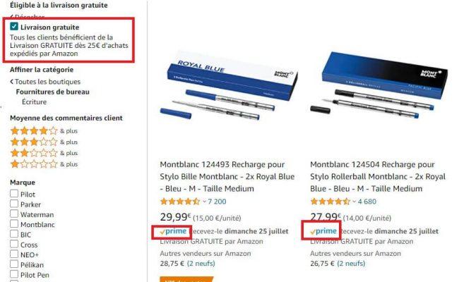 Amazon Prime - Service Expédié par Amazon (FBA)