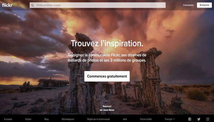 Banque d'images gratuites - Flickr
