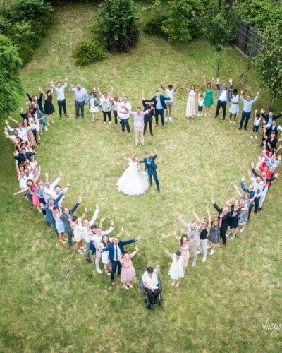 Photos de mariage par drone - Vincent Moreau