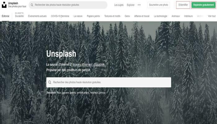 Banque d'images gratuites - Unsplash